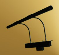 Black Grand Piano Lamp