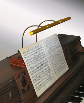 Spinet Piano Lamp | Ektralamp